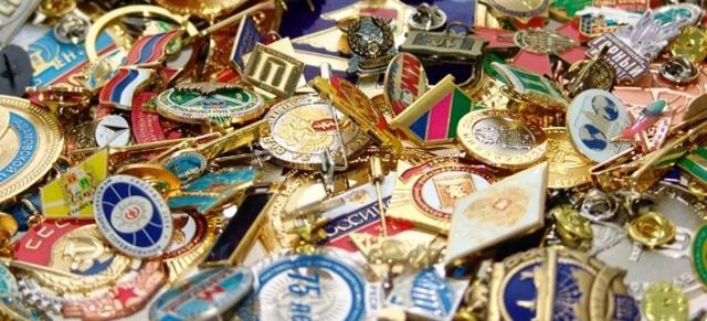 Изготовление значков, медалей, ювелирные изделия