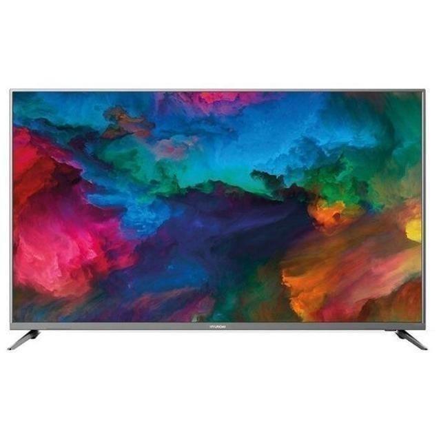 """Магазин «ТЕЛЕВИЗОР 1️⃣4️⃣»  📺 55"""" SMART FULLHD HYUNDAI H-LED55ES5001  ✅Диагональ: 55"""" (140 см) ✅Разрешение: 1920x1080 (FullHD) ✅SMART TV: есть ✅Wi-Fi: есть ✅Встроенный TV-тюнер (20 цифровых каналов) ✅Входы: AV, HDMI x3, USB x2, Ethernet (RJ-45), Wi-Fi ✅Год выпуска модели: 2019  ➡️ Гарантия 1 год. ➡️ Рассрочка 0-0-12 ➡️ Бесплатная доставка до подъезда ________________________________  ⬇️ Скачай наш прайс-лист: https://televizor14.com/"""