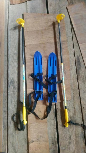 Продаю детские лыжи с трёх лет