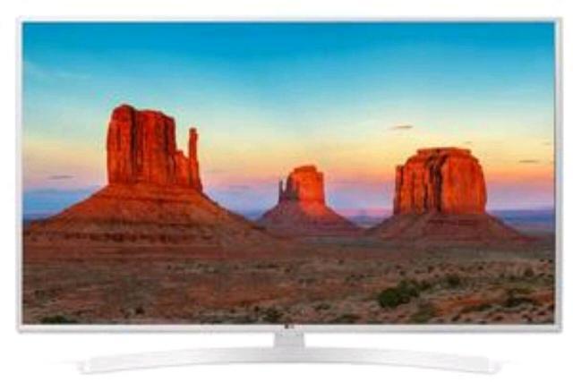 Описание   49-дюймовый телевизор LED LG 49UK6390 подойдет для комфортного просмотра в большой гостиной или другом крупном помещении. Особенностью внешнего вида модели является нечасто встречающийся в настоящее время при оформлении этого вида техники белый цвет. Телевизор, разрешение экрана которого составляет 3840x2160, соответствует стандарту Ultra HD (4K) 2160p. В случае доступа к изображению такого класса вы получите впечатляющий уровень «картинки». При производстве телевизора применена подсветка Direct LED, особенностью которой является равномерность освещенности экрана. Телевизор LED LG 49UK6390 станет отличным выбором для любителей интернет-телевидения, ведь в его арсенале есть поддержка Smart TV. Встроенный модуль Wi-Fi дает возможность не использовать проводное подключение к Интернету, но если этот тип подключения для вас предпочтителен, то такая возможность есть: можно воспользоваться портом Ethernet (RJ-45). Функциональность модели расширена за счет Bluetooth-интерфейса. Можно будет использовать телевизор в качестве Bluetooth-колонки. Упаковка в наличии, состояние новой. Возможна доставка.