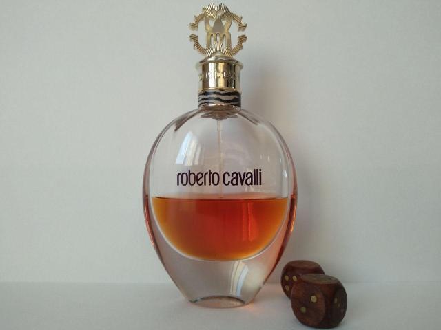 Roberto Cavalli Eau de Parfum (EDP). Остаток от 75 мл, без коробки. Оригинал.