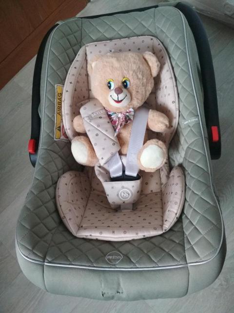 автолюлька легкая и удобная для малыша, с рождения и до 13 кг, состояние идеальное