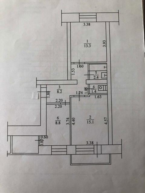 Собственник, 8-914-296-12-16, каменный дом, в квартире есть балкон и лоджия, высота потолков 2,85 м, без ремонта, фото в личные сообщения, без долгов и обременений. Собственник