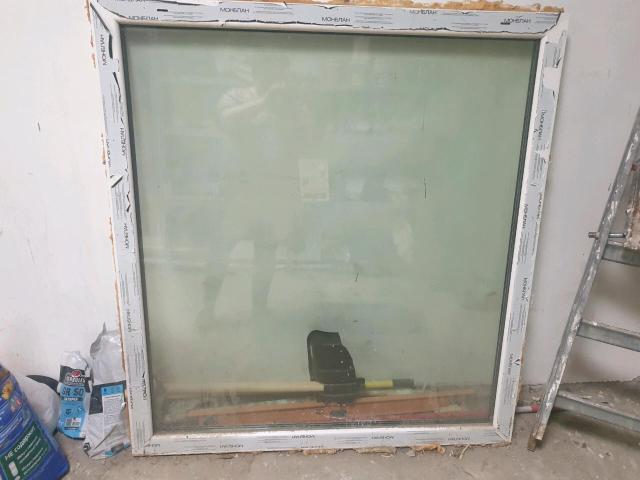 Глухое пластиковое окно высота 1.3 ширина 1.2