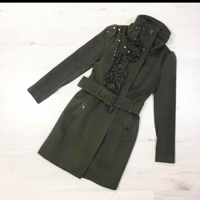 Пальто Patrizia Pepe, 100% шерсть, размер 42, в отличном состоянии
