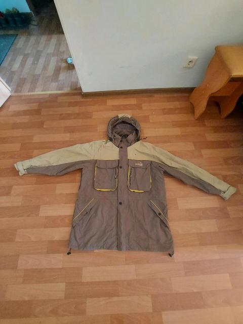 Дышашяя куртка Norfin Cyclon Куртка для охоты и рыбалки активного отдыха NORFIN характеристики читайте в интернете, размер 50-52-54 надо мерить (есть косяк  на фото видно)