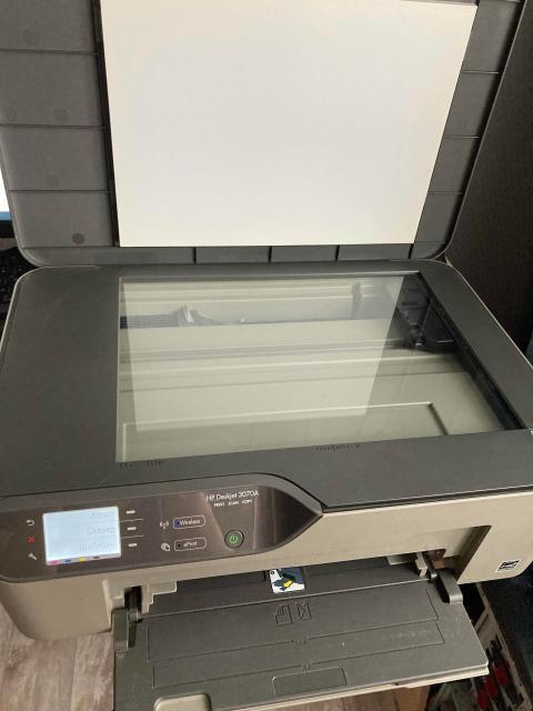 Продаю б/у МФУ HP DeskJet 3070A, картриджи новые (установлены 09.04.2021), не родные, требуется чистка