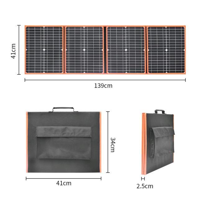 Раскладная солнечная батарея. 80 ватт Выход 18вольт и 5вольт юсб. Срок службы свыше 15лет Новый. Торга и обмена нет