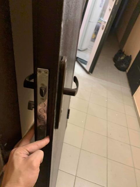 Продаю входную дверь ! Не битая не мятая ручки целые все в рабочем состояние . 94*200 размеры дверь от новостройки , причина продажи купили новую . Самовывоз с ДСК реальному покупателю торг 👍🏼