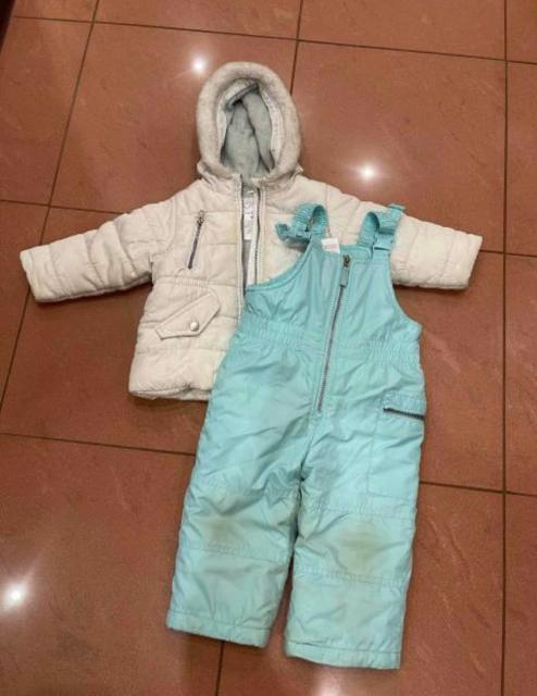 Комплект за 250 руб. (Куртка+полукомбинезон). Размер с рождения до 6 лет.). Б/у. Самовывоз.