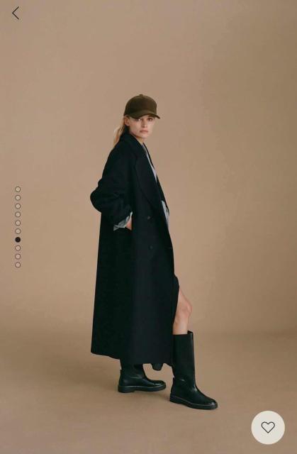 Продаю новое с бирками пальто Mango, размер xs На мой рост (155 см)очень длинное  Длина по спине 123см