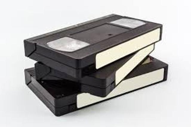 Оцифровка VHS видеокассет. Одна кассета - 300 руб