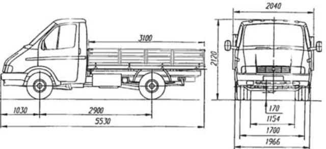 Газель бортовая борт 3.10 2.40  Перевозки до 1.5 тон