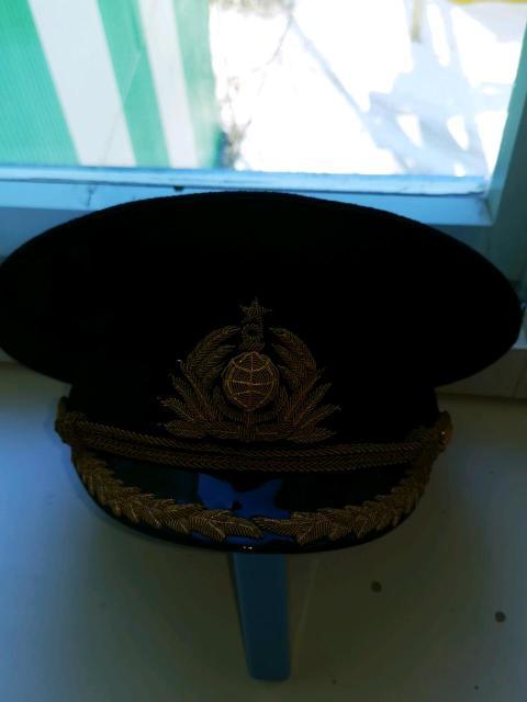 Фуражка ВМФ  58 размер, новая. Вацап 89245677332