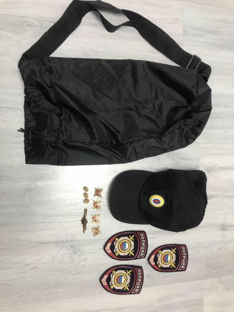 Продаю кепку летнюю новую + подарок фурнитура с сумкой и нашивками