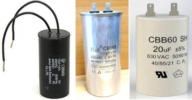 Куплю конденсаторы пусковые для электродвигателей  450-650 вольт от 1 до 1000 мкФ