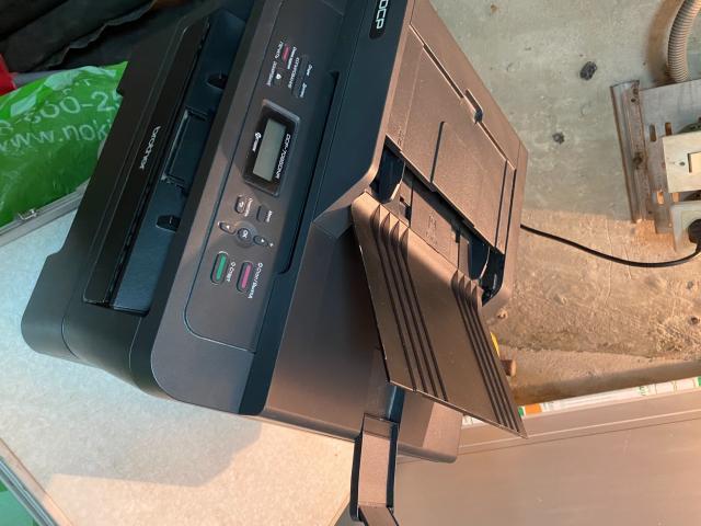 МФУ Brother DCP-7065DNR копир сканер принтер лазерный, автоматическая двусторонняя печать ч/б.  А4 Плюс запасной картридж. Комплект шнуров