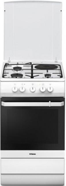 ⚡ПРОДАЕТСЯ ⚡ Комбинированная плита Hansa FCMW53040 (белый)  Технические характеристики  📍Производитель: Hansa 📍Количество газовых конфорок: 3 📍Электроподжиг:да 📍Управление:механическое 📍Количество электрических конфорок:1 📍Объем духовки (л):67 📍Внутреннее покрытие духовки: эмаль 📍Количество режимов духовки: 4 📍Количество стекол в дверце: 2 📍Ящик для хранения посуды: да 📍Рабочая поверхность: эмаль 📍Материал решеток: металл 📍Класс энергопотребления: A 📍Тип гриля: электрический 📍Внутреннее покрытие духовки: эмаль  Функции и особенности  📍Освещение духовки: да 📍Электроподжиг: да 📍Гриль: да Левая дальняя конфорка 1400 Вт Правая дальняя конфорка 1400 Вт Левая ближняя конфорка 2400 Вт Правая ближняя конфорка 1000 Вт  Габариты 📍Вес (кг) 41 📍Высота (см) 85 📍Ширина (см) 50 📍Длина (см) 60