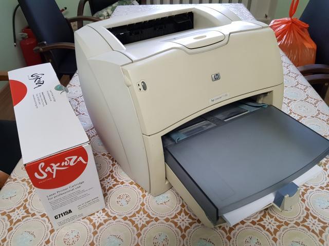 Рабочая лошадка лазерный принтер HP LaserJet 1150 в хорошем рабочем состоянии. В комплекте кабель питания, кабель LPT и запасной картридж.