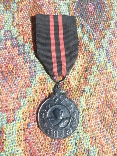 Финская медаль за Зимнюю войну с СССР 1939-1940гг. Кукушка снайпер Суоми