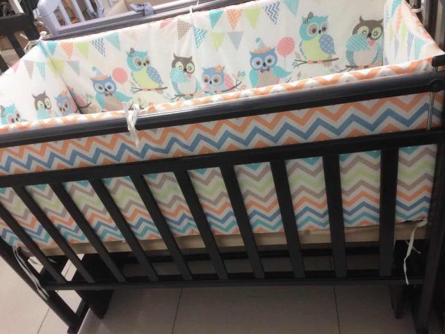 Продаю детскую кровать с матрасом и бортиками в разобранном виде (в коробке)