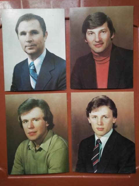 Открытки 1984 года.