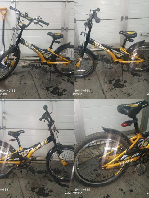 Велосипед на 7-9 лет. состояние новое , имеются съёмные маленькие колёсики для поддерживания равновесия для начинающих. торг