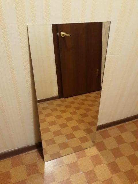 Зеркало 100 х 45 см 1000 руб. Если объявление висит, значит оно актуально.