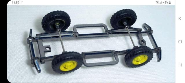 КИТ-Чарли 1/43 для самостоятельной дароботки моделей и изготовлений конверсей.