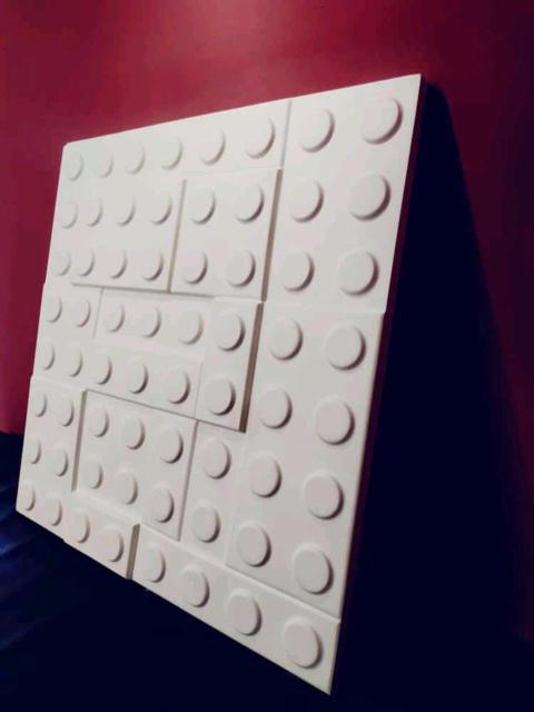 """3D панель """"ЛЕГО/LEGO"""" Размер: 50 см Х 50 см Материал: Высокопрочный гипс Цена: за 1 штуку - 500 рублей Цена: за 1 кв.м. - 2000 рублей Замер и доставка Бесплатно! к.т. 8924-876-52-66"""