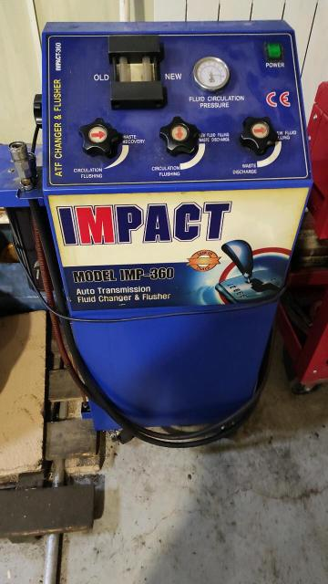 Продам аппарат по замене масла в АКПП