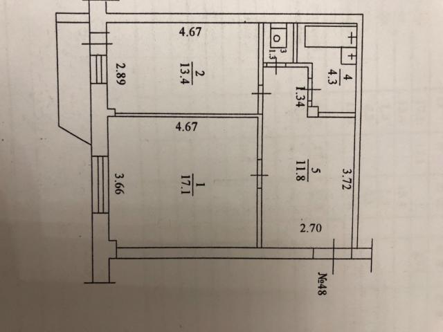 Просторная ухоженная Квартира , есть мебель и бытовая техника. Тихие соседи. Собственник, без обременений.