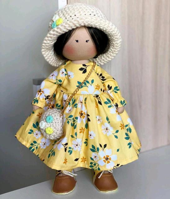 Продаю куклу в стиле Коннэ ручная работа  рост 30 см 🤗😍😍😍 прекрасный подарок 🌼🌼🌼