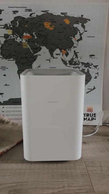Увлажнитель воздуха с функцией очищения воздуха, возможность управлять со смартфона. Очень удобен в использовании. В идеальном состоянии. Модель Xiaomi Smartmi Air Humidifier 2