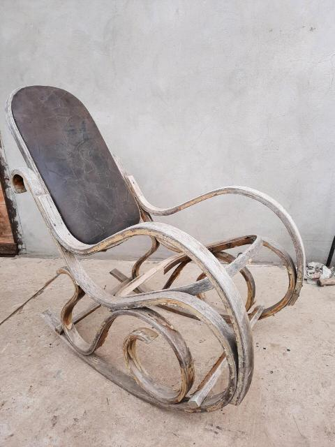 Кресло качалка СССР ,под реставрацию ,или варианты обмена на вещи СССР
