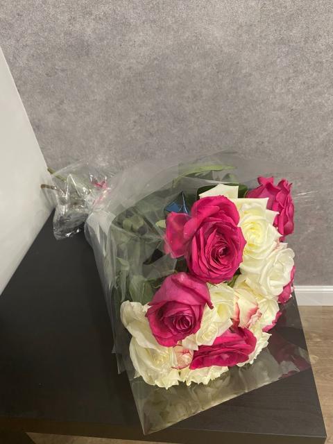 Продам букет цветов 19 роз за 500 руб.