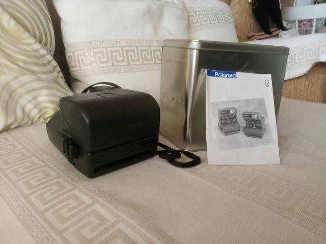 """Продам легендарный фотоаппарат """"Polaroid 636AF"""". Производство Германии. В отличном состоянии. Ящиком для хранения."""