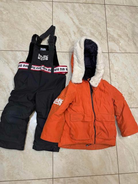 Продаю куртку и полукомбинезон BASK KIDS оригинал!в хорошем состоянии!размер 98!возможен не большой торг!