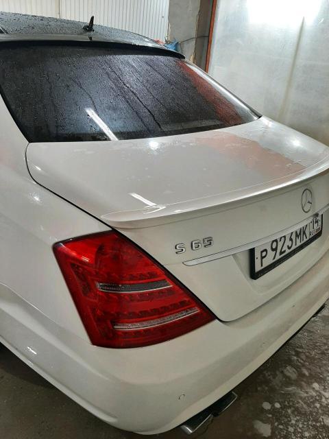Mercedes-Benz S-Class 2007