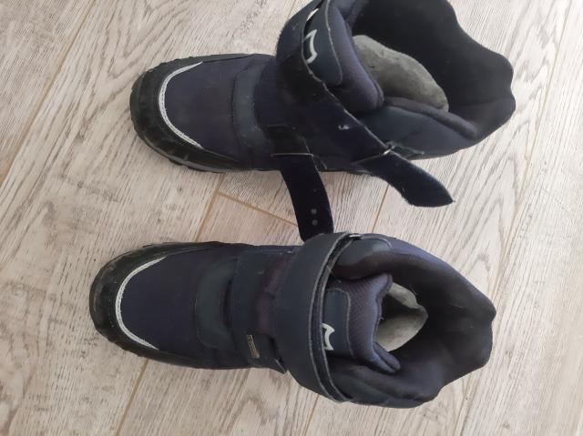 Продам зимние ботинки для мальчика, р.38, фирма Котофей