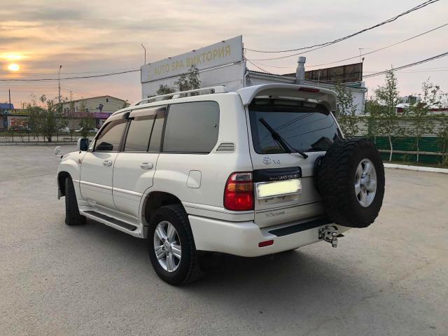 Toyota Land Cruiser 2001
