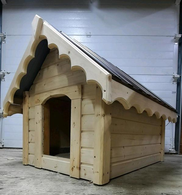 Изготавливаем на заказ будки для собак. В наличии полностью утепленная(утеплитель полистирол) размеры 100х70х90. Сделана на совесть.