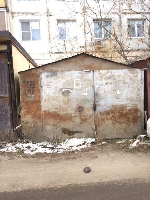 Продаю холодный металлический гараж 3,5*6 м. в районе 31 школы