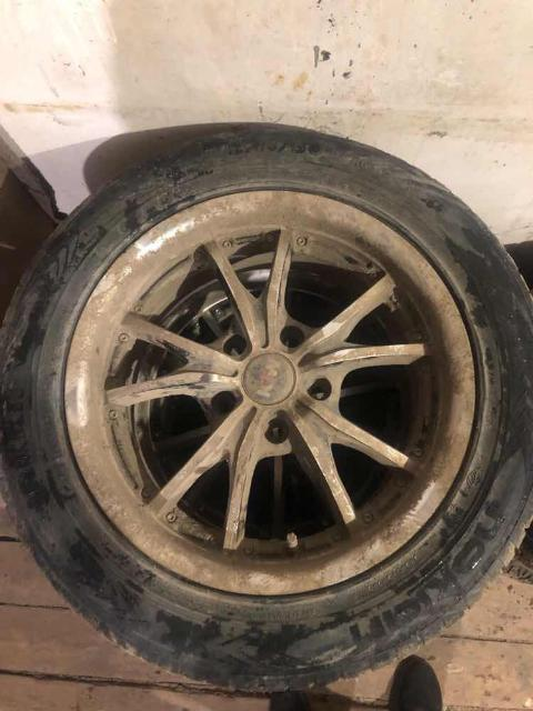 Продам колеса маркообраз 5/114.3 резина лето, износ 5%, без порезов и тд. Обмен на саб или другие колеса на зиме