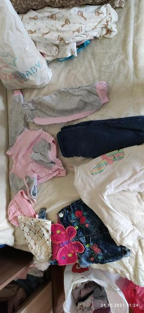 От рождения до 72 р,все что на фото + пакет вещей.Вещи в хорошем отличном состоянии,некоторые носились 1 раз